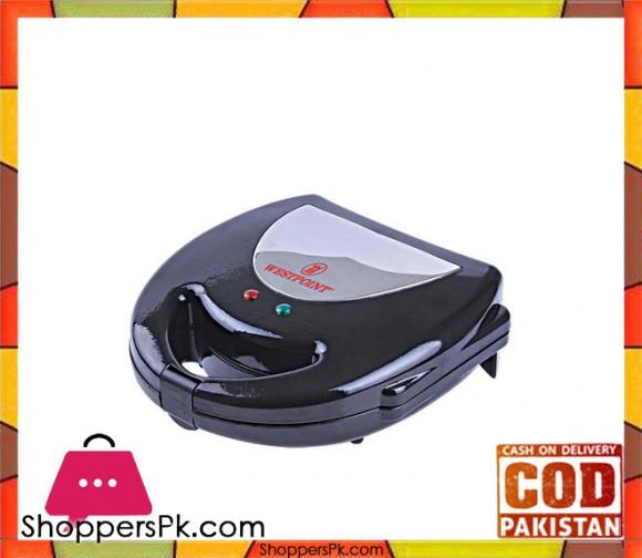 Westpoint WF-684 - Sandwich Maker - Black (Brand Warranty) - Karachi Only