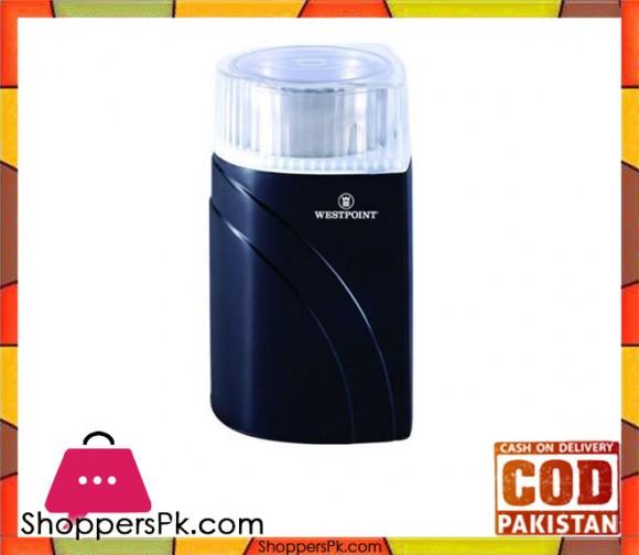 Westpoint WF-9221 - Coffee Grinder - Black (Brand Warranty) - Karachi Only
