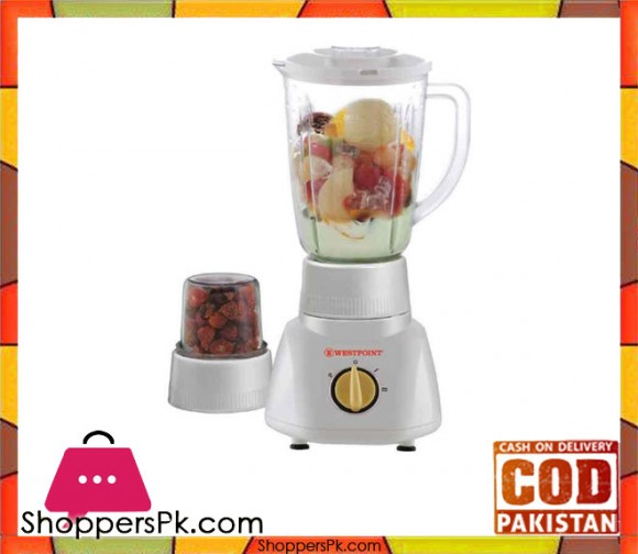 Westpoint WF-213 - Blender and Dry Mill - White (Brand Warranty) - Karachi Only