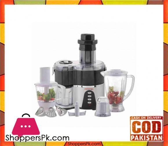 Westpoint WF-9209 - 10 in 1 Food Factory - Black - Karachi Only