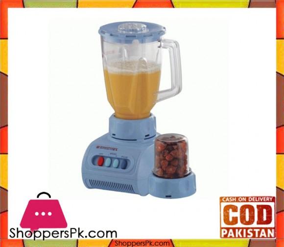 Westpoint WF-929 - Blender & Dry Mill - 2 in 1 - Blue - Karachi Only