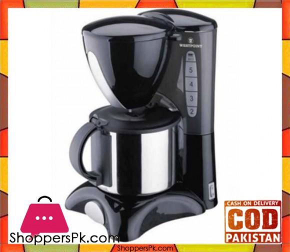 Westpoint Deluxe Coffee Maker - WF-2022 - Black - Karachi Only