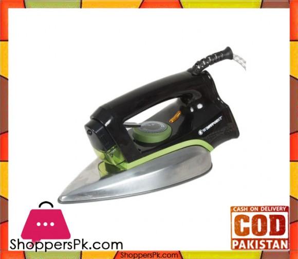Westpoint Deluxe Dry Iron WF-2430 - 1200W - Black - Karachi Only