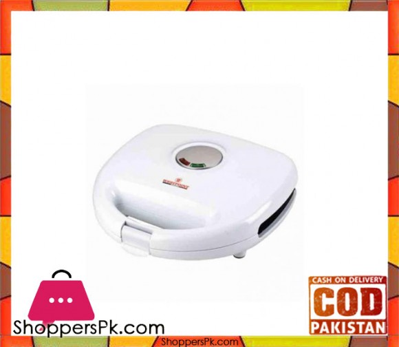 Westpoint WF-620 - Deluxe Sandwich Maker - White - Karachi Only
