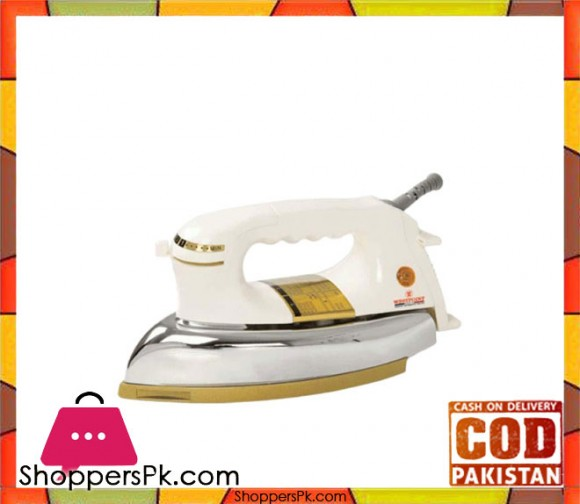Westpoint Heavy Weight Dry Iron - WF-78B - White - Karachi Only