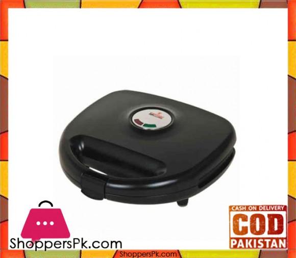 Westpoint WF-622 - 2 Slice Sandwich Maker - Black - Karachi Only