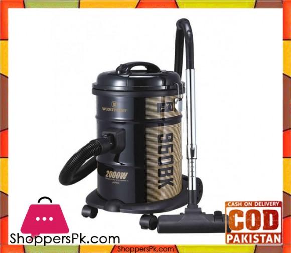 Westpoint WF-960 BK - Deluxe Vacuum Cleaner - 1500 Watts - Black - Karachi Only