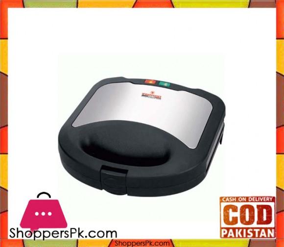 Westpoint WF-639 - 2 Slice Sandwich Maker - Black - Karachi Only