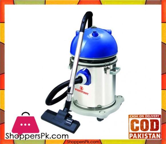 Westpoint WF-3669 - Deluxe Vacuum Cleaner Wet, Dry & Blower Function - Blue & Silver - 1500Watts - Karachi Only