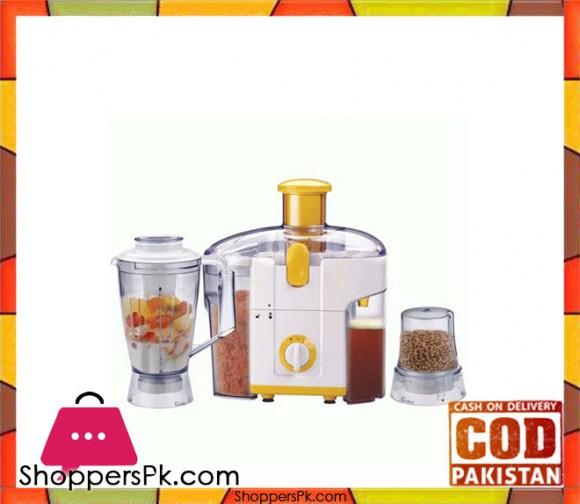 Westpoint 3 in 1 - Juicer, Blender & Dry Mill - WF-5011/5021 - Karachi Only