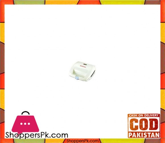 Westpoint WF-6675 - Sandwich Maker - White - Karachi Only