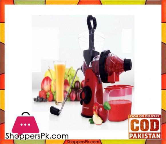 Westpoint WF-11 - Deluxe Handy Juicer - Red & Black - Karachi Only