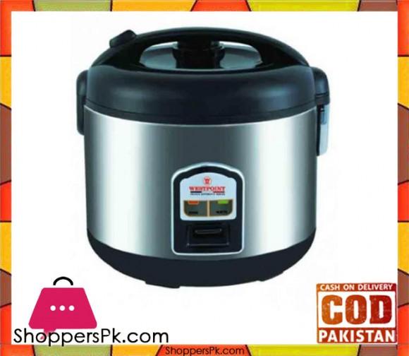 Westpoint WF-5250 - Rice Cooker - Black & Silver - Karachi Only
