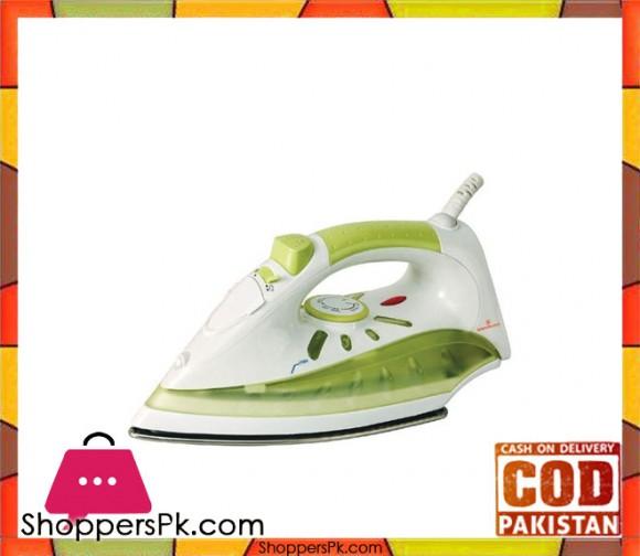 Westpoint Steam Iron - White and Green - Karachi Only