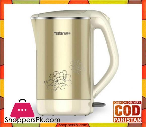 Westpoint WF - 6180 - Deluxe Cordless Kettle 2 Liter - Beige - Karachi Only