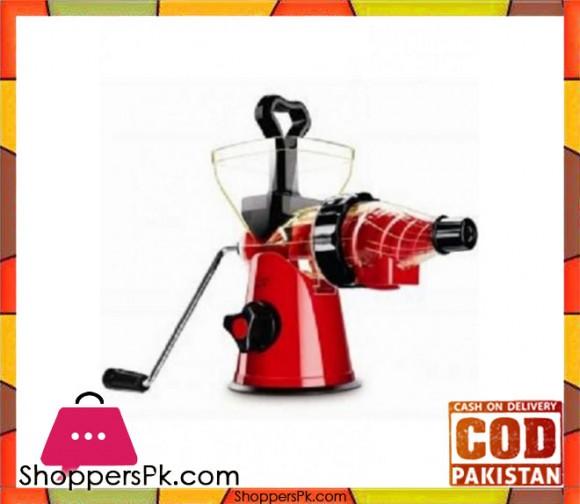 Westpoint WF-11 - Deluxe Handy Juicer - Red - Karachi Only