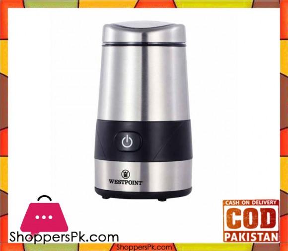 Westpoint WF-9222 - Coffee Grinder - Silver - Karachi Only