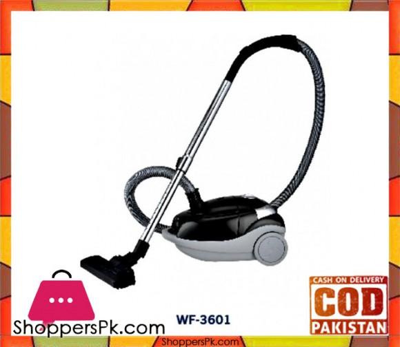 Westpoint WF-3601 - Deluxe Vacuum Cleaner - 1500 Watts - Black & Grey - Karachi Only