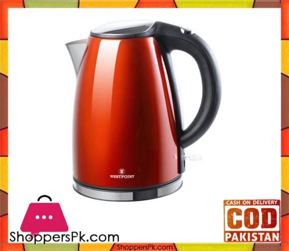 Westpoint Electric Tea Kettle - WF-6174 - 1.7 Ltr - Red - Karachi Only