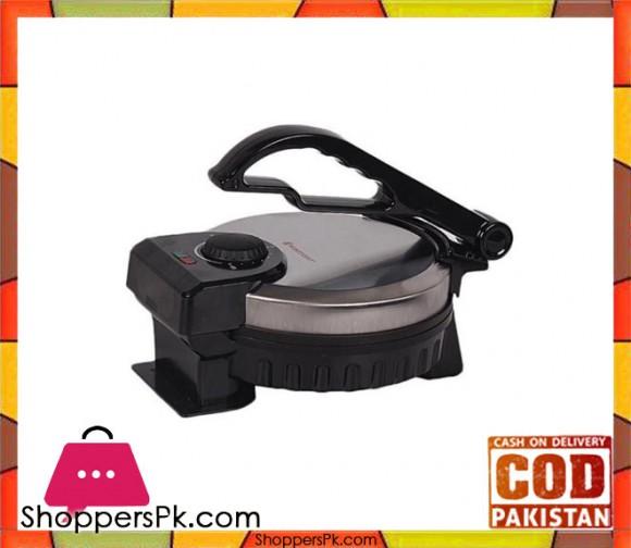 Westpoint WF-6512 - Roti Maker With Timer - Silver & Black - Karachi Only