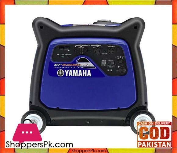 Yamaha Portable Generator 5.5 kVA - EF6300iSE - Blue - Karachi Only