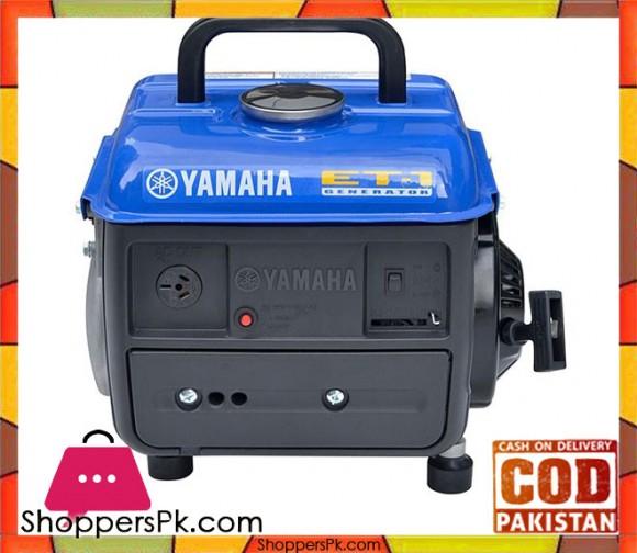 Yamaha Handy Petrol Generator - 0.8 KVA - ET1 - Black - Karachi Only