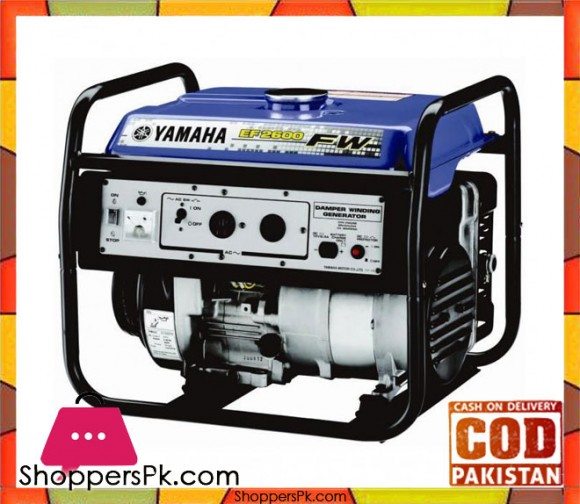 Yamaha Petrol Generator 2.3 KVA - EF2600FW - Blue - Karachi Only