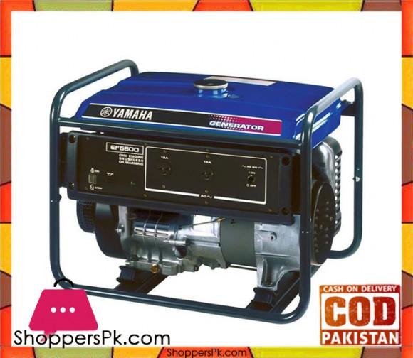 Yamaha Petrol Generator 5.5 KVA - EF6600 - Blue - Karachi Only
