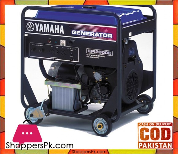 Yamaha Portable Petrol Generator 10 KVA - EF12000 - Black - Karachi Only