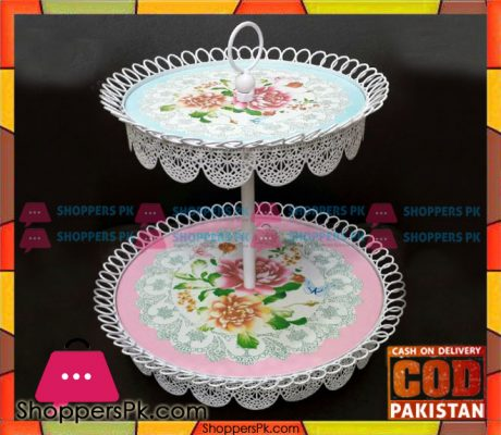 2-Tier-Metal-Cake-Stand-Price-in-Pakistan