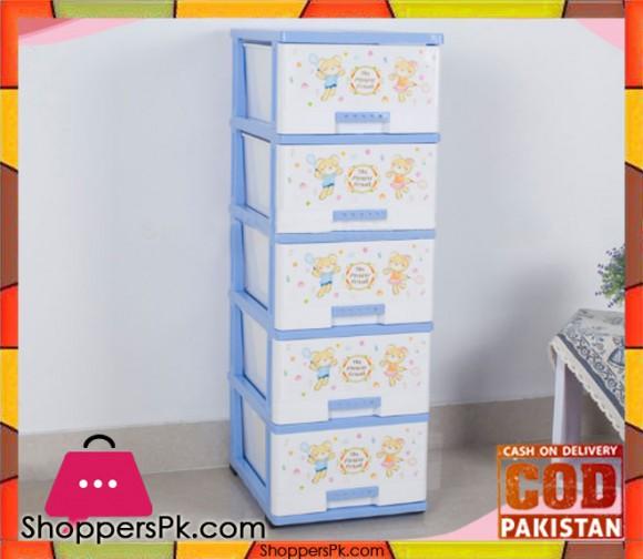 5 Tiers Plastic Storage Cabinet HD-2367