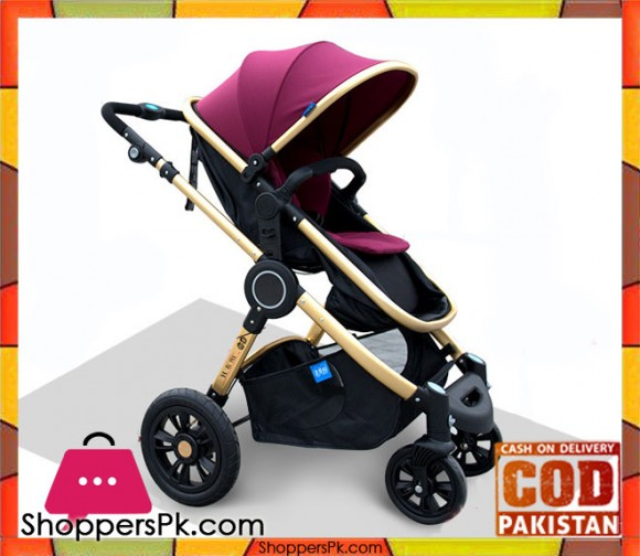 Baby-High-Quality-Stroller-Two-way-Four-wheeled-Folding-Baby-Carriage