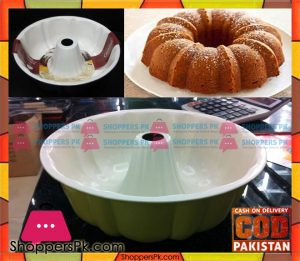 Ceramic Coated Bundt Pan 10 Inch