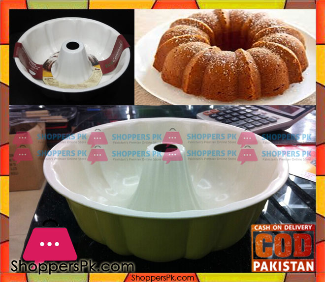 Buy Ceramic Coated Bundt Pan 10 Inch At Best Price In Pakistan