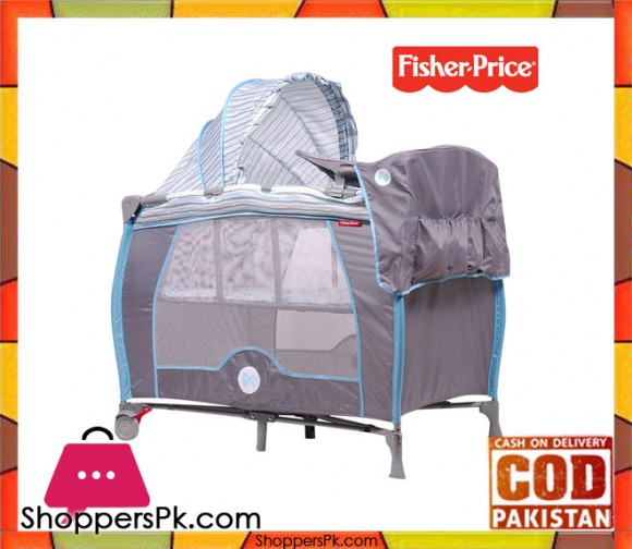 Fisher Price Playard Zooper Baby Bed