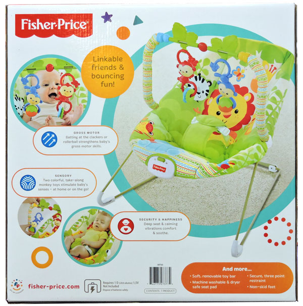 Buy Fisher Price Rainforest Friends Bouncer At Best Price