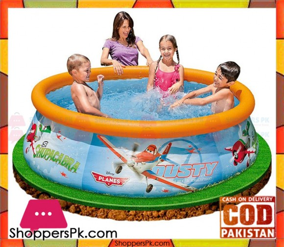 INTEX Disney PLANES Easy Set Pool - 6 Feet x 20 Inch - 28102