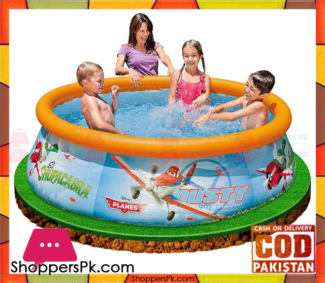 Buy Intex Disney Planes Easy Set Pool 6 Feet X 20 Inch 28102 At Best Price In Pakistan