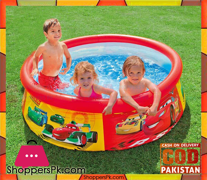 Buy intex inflatable pool easy set pool the cars design - Inflatable quick set swimming pool ...