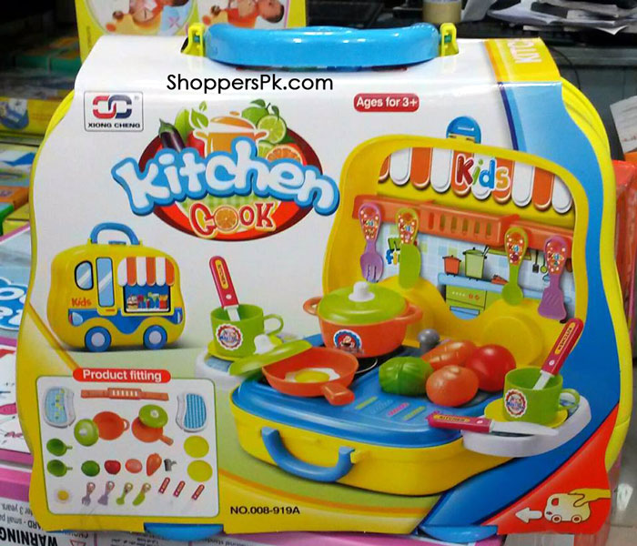 Kitchen cook set 25 pcs 008 919a shoppers pakistan for Kitchen set 008 82