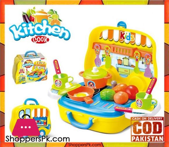 Kitchen Cook Set 25 Pcs 008-919A