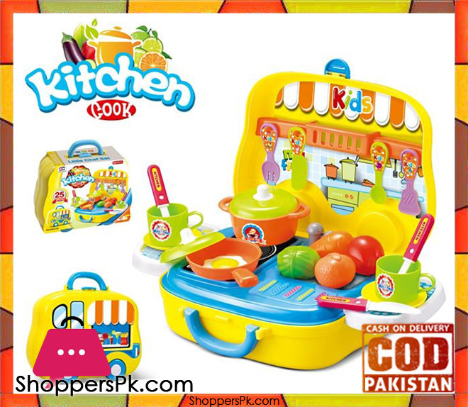 Buy kitchen cook set 25 pcs 008 919a at best price in pakistan for Kitchen set 008 82
