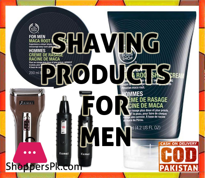 Shaving Products for Men Price in Pakistan