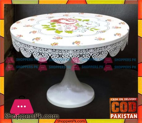 Vintage-Lace-Metal-Cake-Stand-Pedestal-Price-in-Pakistan