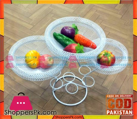 Vintage-Metal-Fruit-Basket-White-Price-in-Pakistan