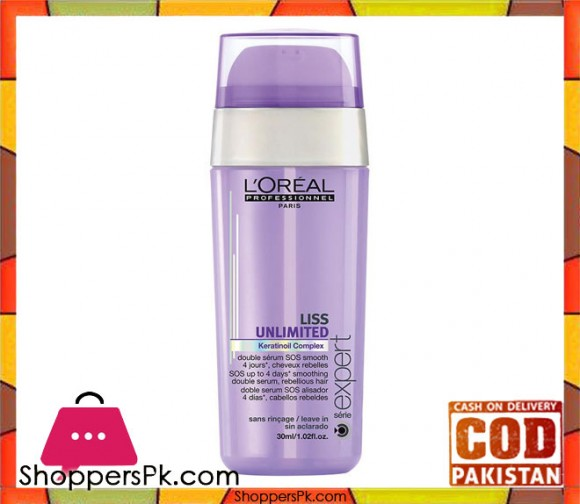 L'Oreal Professionnel  Serie Expert Liss Unlimited Anti-Frizz Double Serum