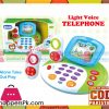 Baby Toy Telephone Receiver with Lights and Sounds