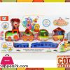 Battery Operated Cartoon Circus Toy Track Set