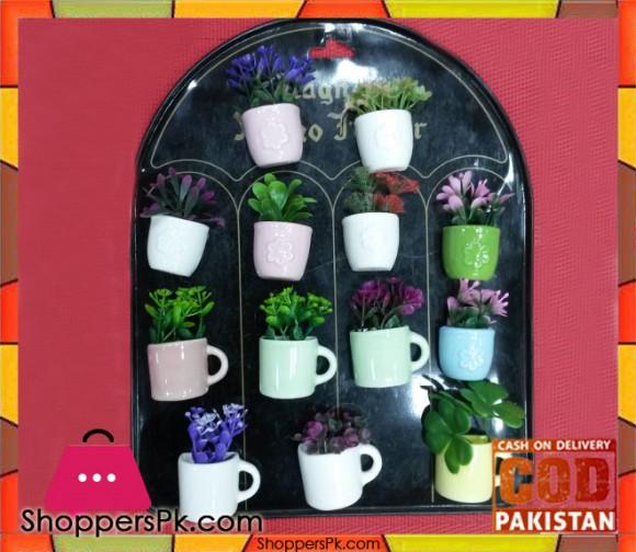 Ceramic Cup Refrigerator Magnet 1 Pcs