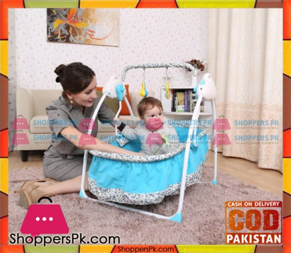 Electric Baby Swing Musical Crib MD-106